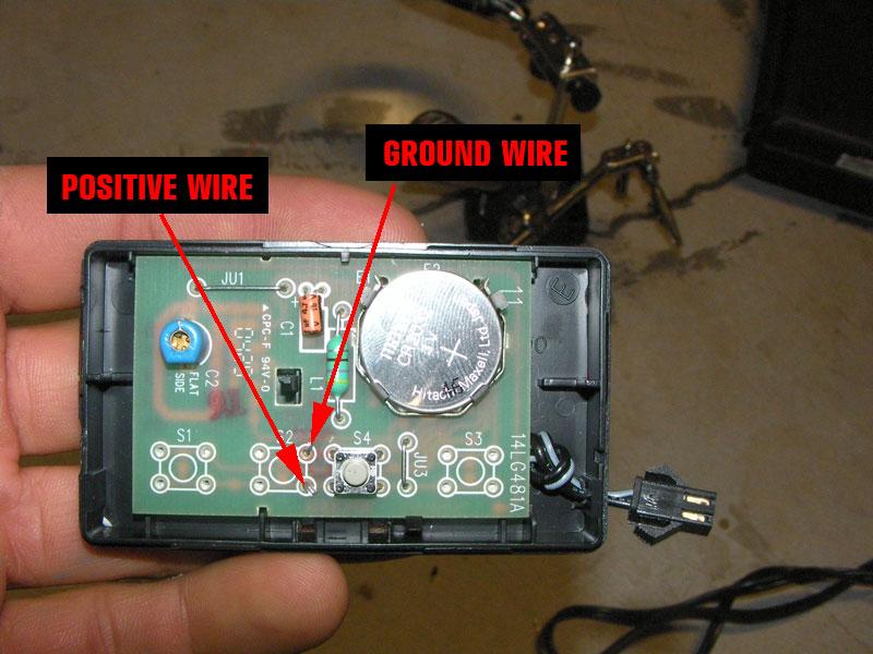 Button Bank Mod Diy Garage Opener Boot Release Smart