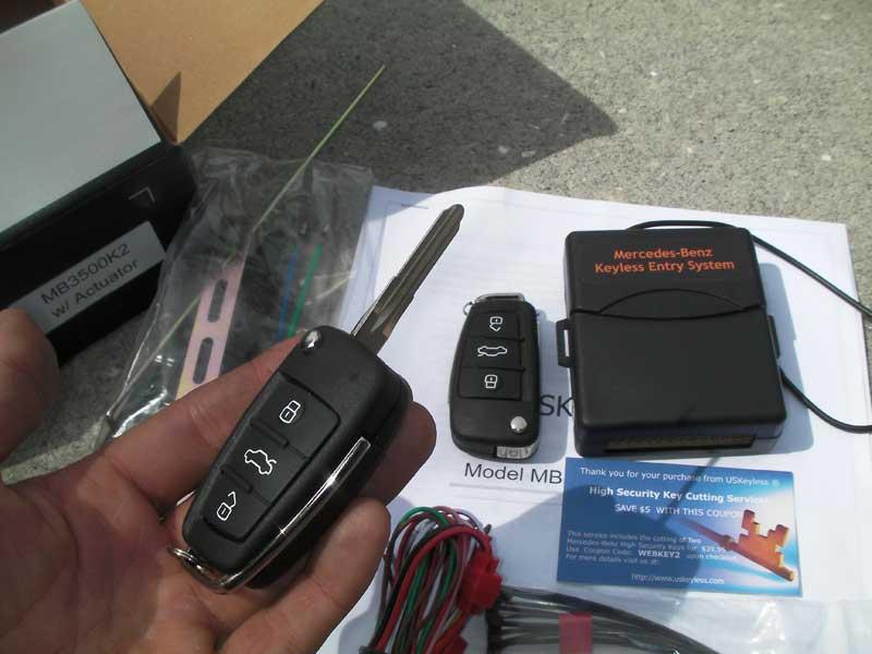 Keyless Entry With Flip Key Diy Mercedes Benz Forum