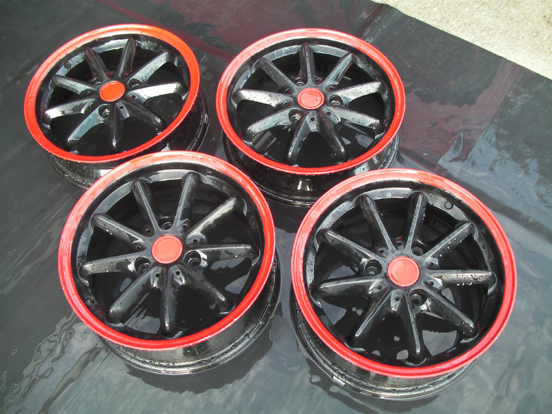 Powdercoated Rims For Sale.