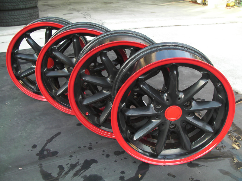 Powdercoated rims for sale. - Smart Car Forums
