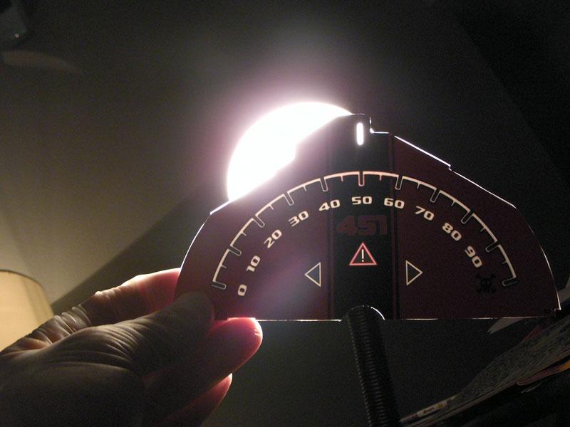 smart fortwo custom speedometer face