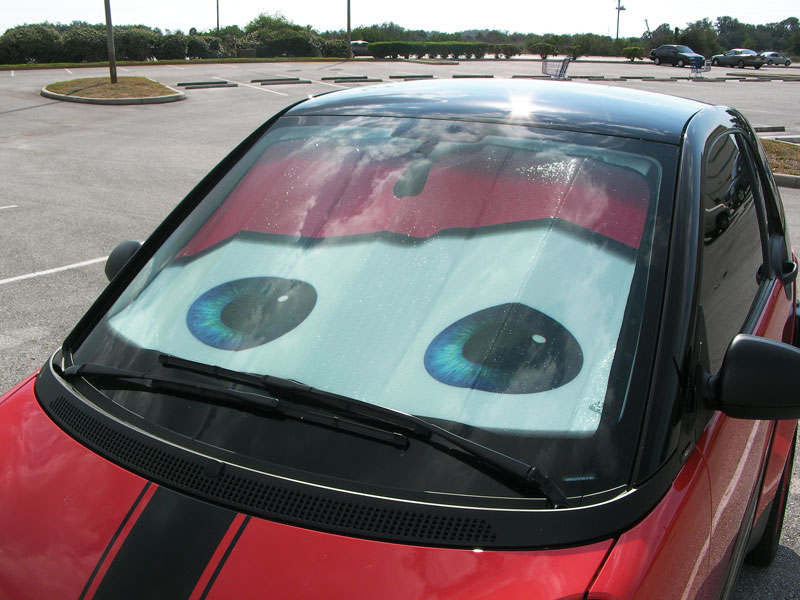 Windshield Sun Shade Page 2 Smart Car Forums
